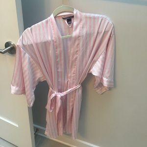 Victoria s Secret Intimates   Sleepwear - Victoria s Secret Striped Kimono  robe size small 11f3b8893